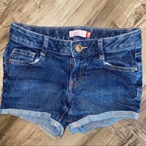 SO denim jean shorts size 10